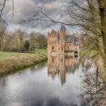 Prachtig zicht op kasteel Wissekerke