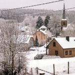 Het dorpje Vlessar in de Belgische Ardennen