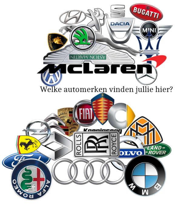 Alle Europese automerken