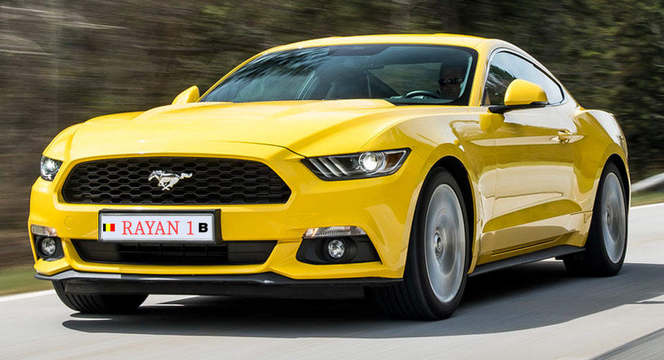 Ford Mustang Rayan zijn fovoriete auto's